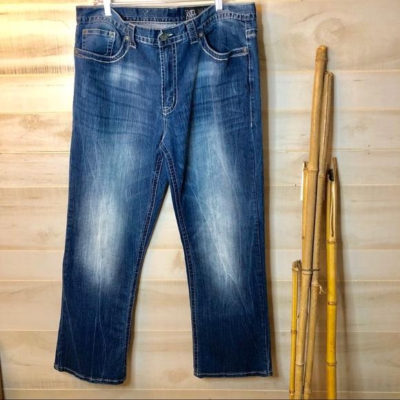 e8e146cb46c Men's Axel Wolcott Vintage Bootcut Jeans 38x32. M_5c783e76c9bf5020e5838556